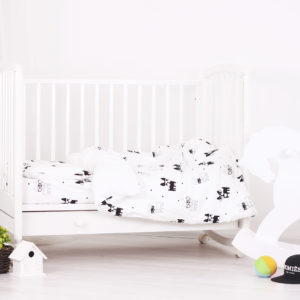 Baby bedding set 'Hot Doggy'