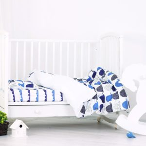 Baby bedding set Wow Whale!