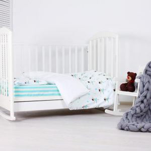 Baby bedding set 'Molochkova'